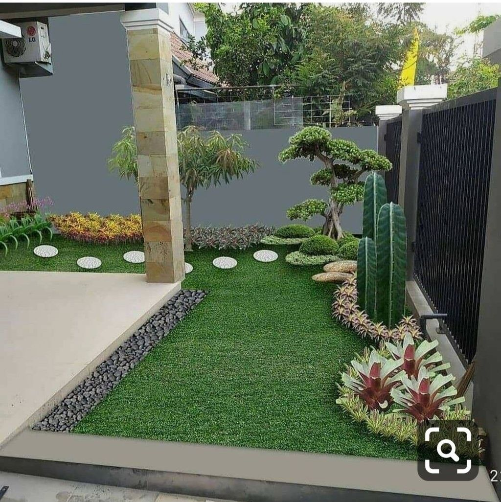Nice Minimalist Backyard Landscaping Design Ideas You Will Love 24