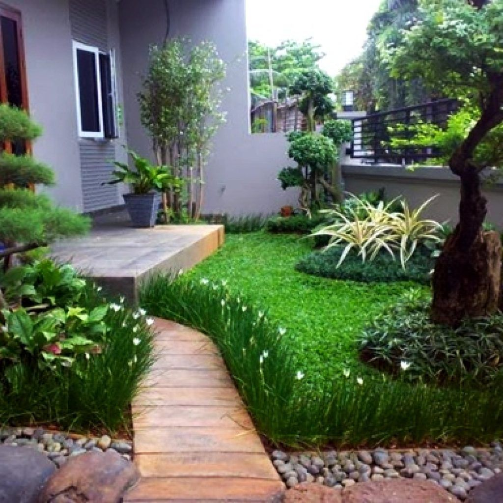 Nice Minimalist Backyard Landscaping Design Ideas You Will Love 34
