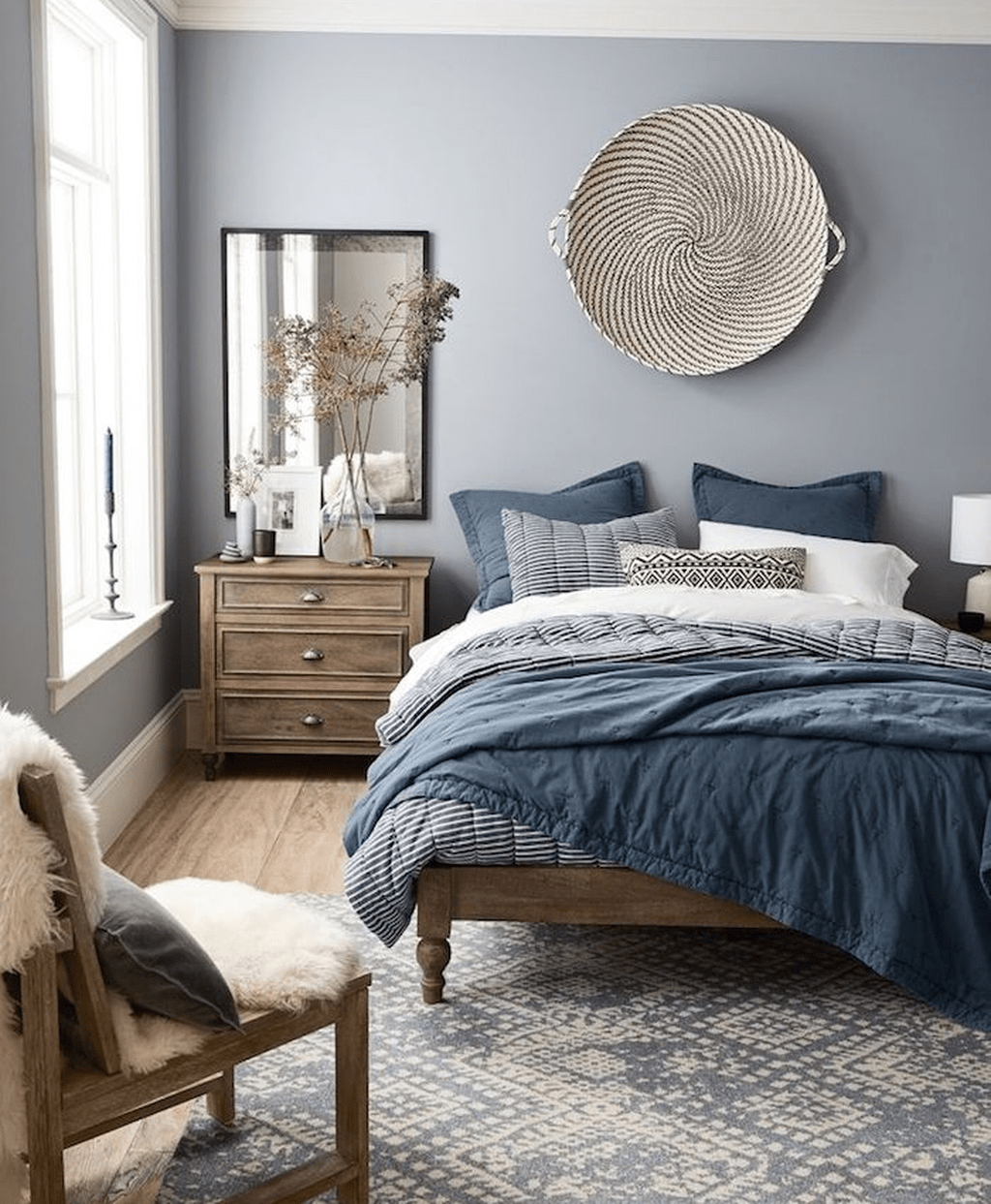 Popular Summer Bedding Ideas To Beautify Your Bedroom 30