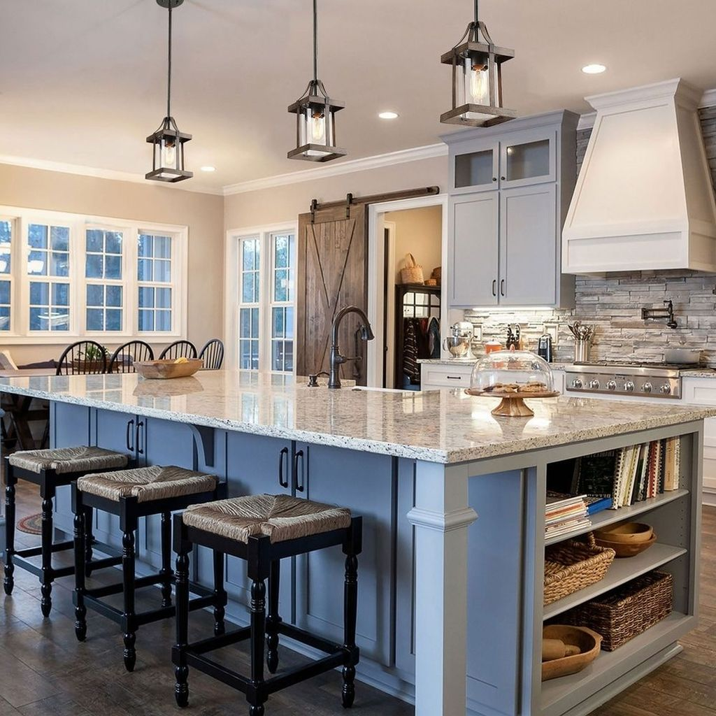 The Best Modern Farmhouse Kitchen Design Ideas 20