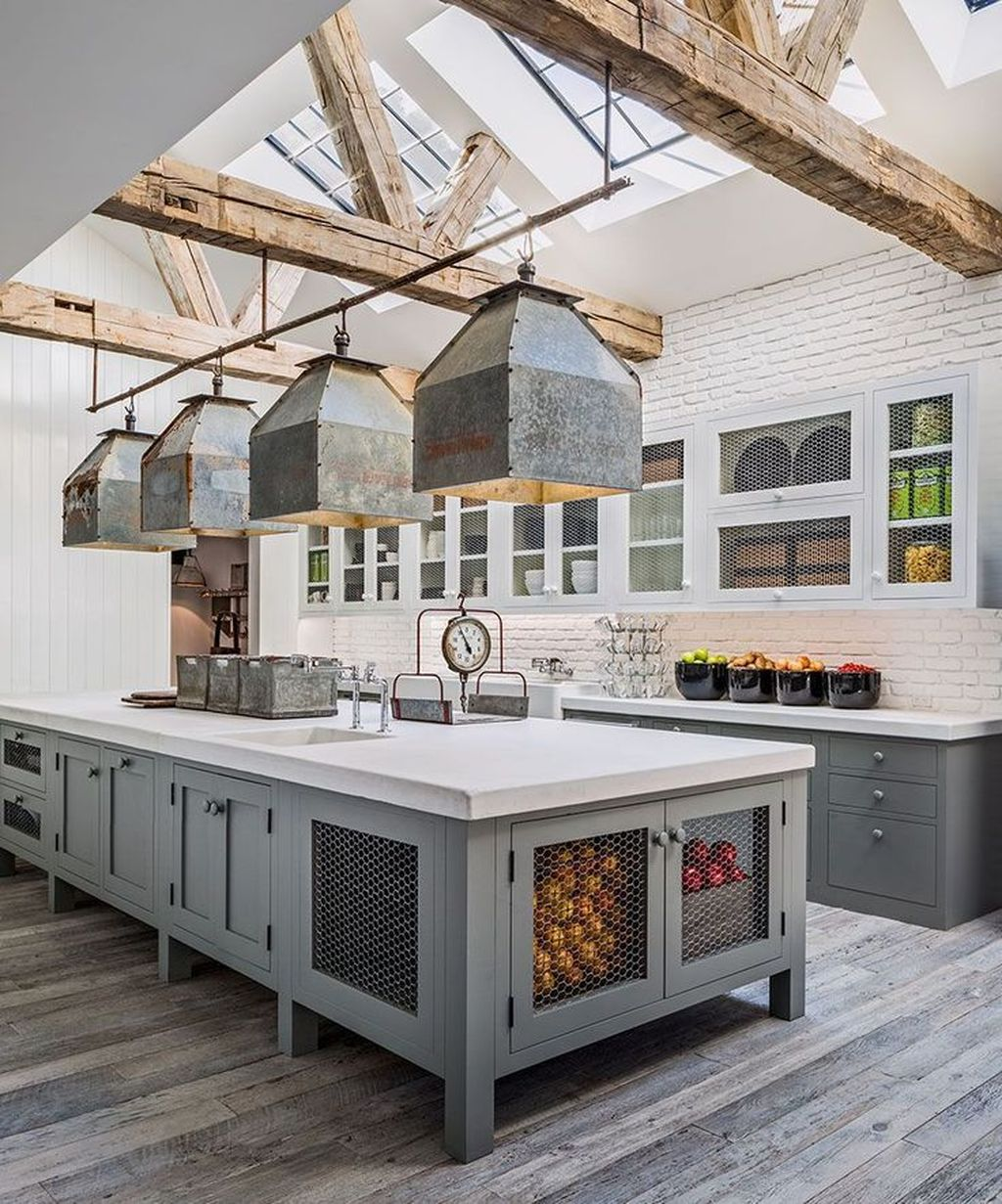 The Best Modern Farmhouse Kitchen Design Ideas 24