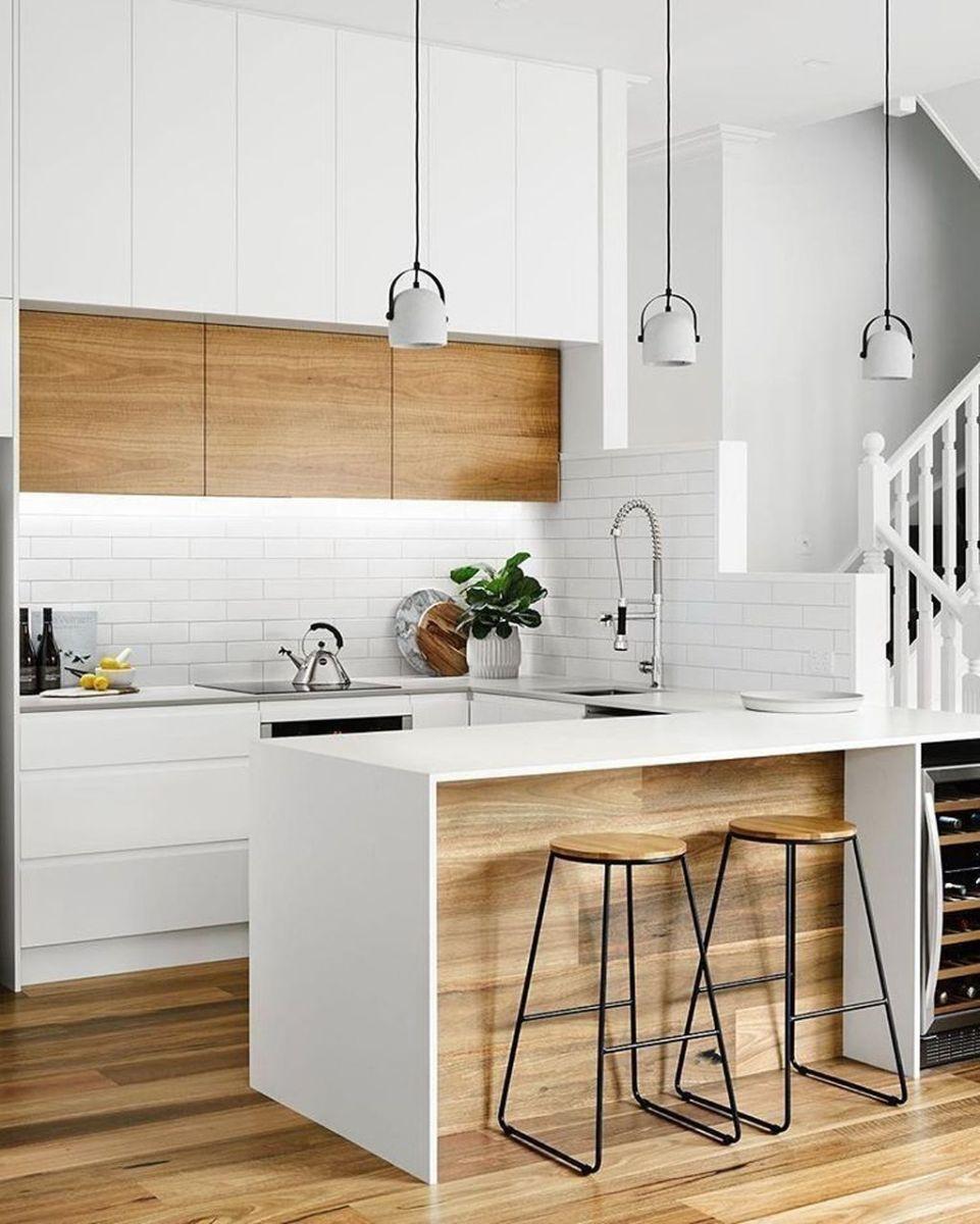 The Best Modern Farmhouse Kitchen Design Ideas 33