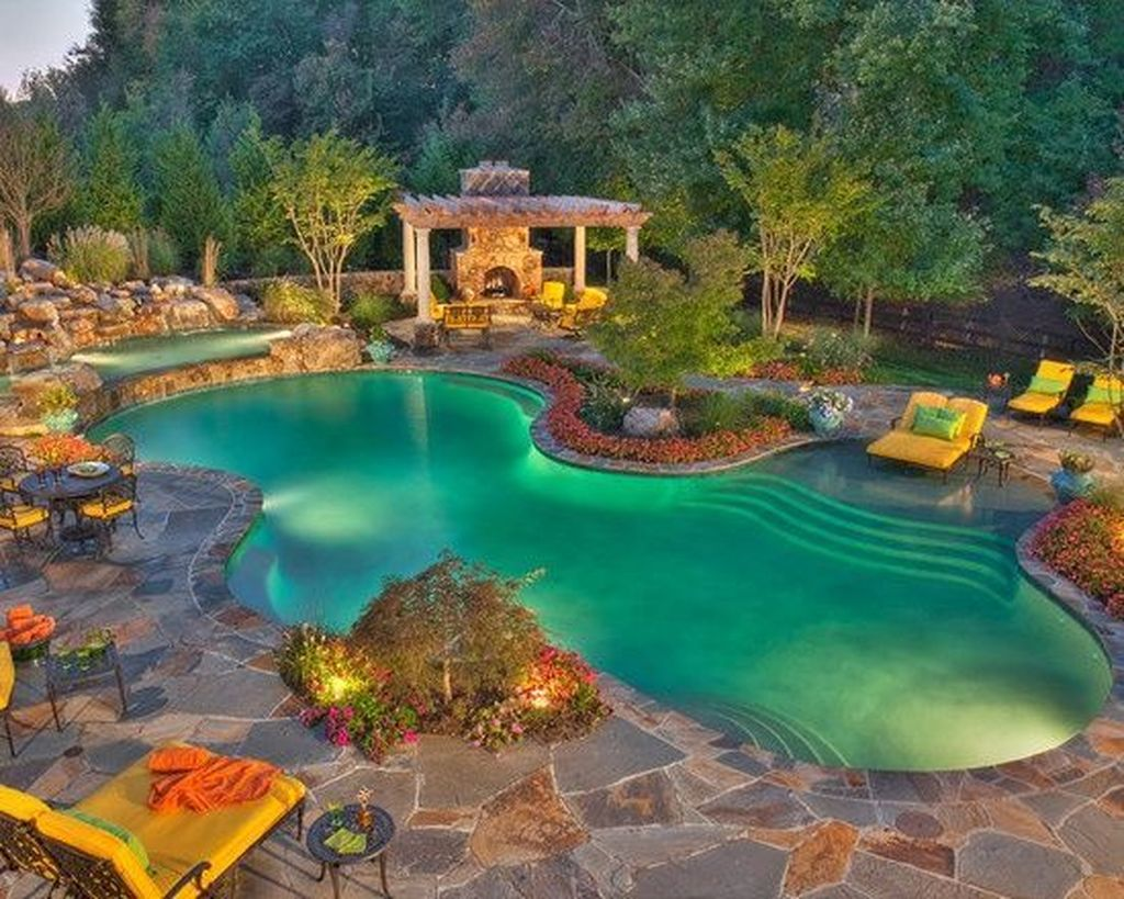 The Best Natural Small Pools Design Ideas You Will Love 06