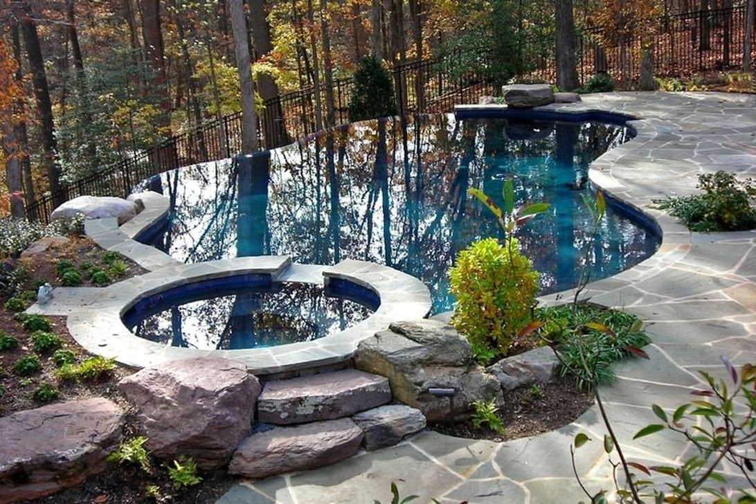 The Best Natural Small Pools Design Ideas You Will Love 11