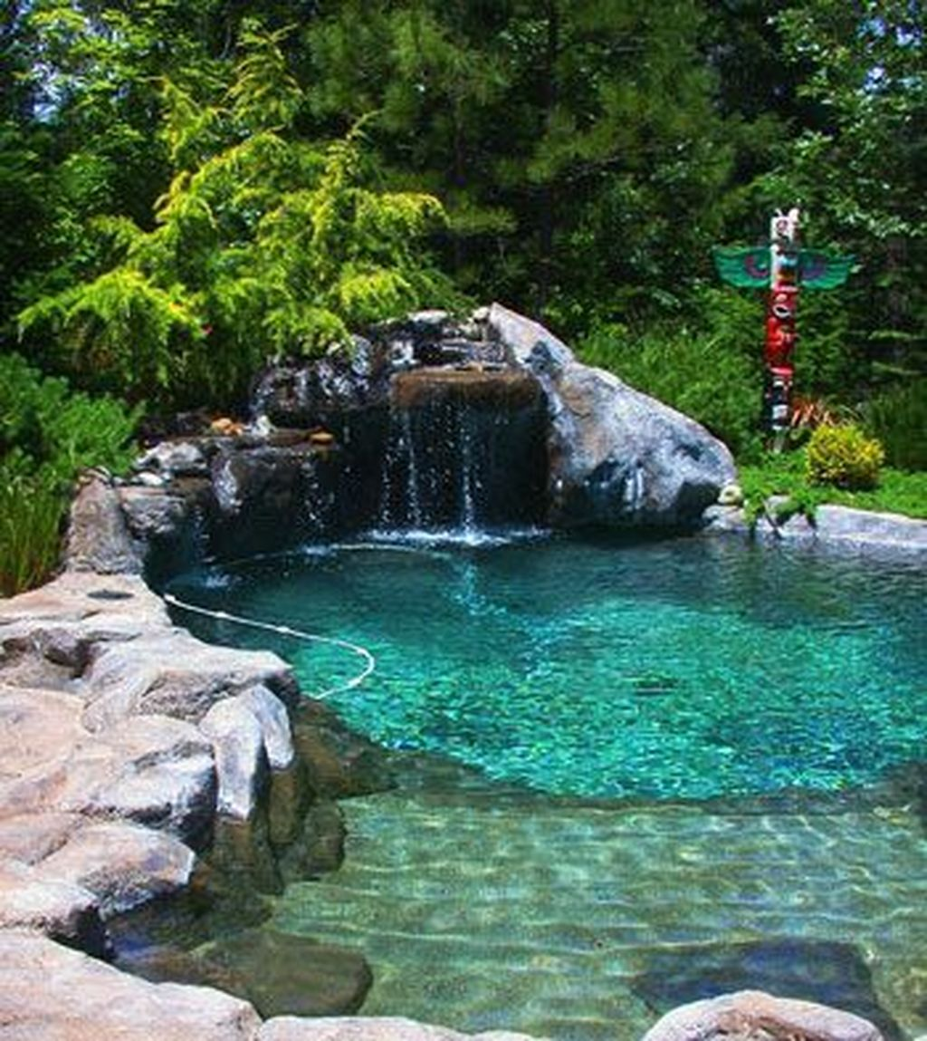 The Best Natural Small Pools Design Ideas You Will Love 17