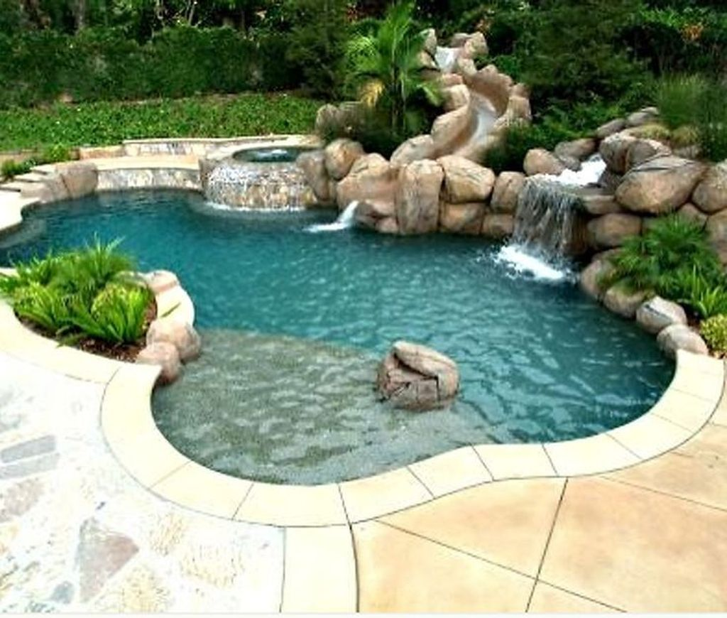 The Best Natural Small Pools Design Ideas You Will Love 21