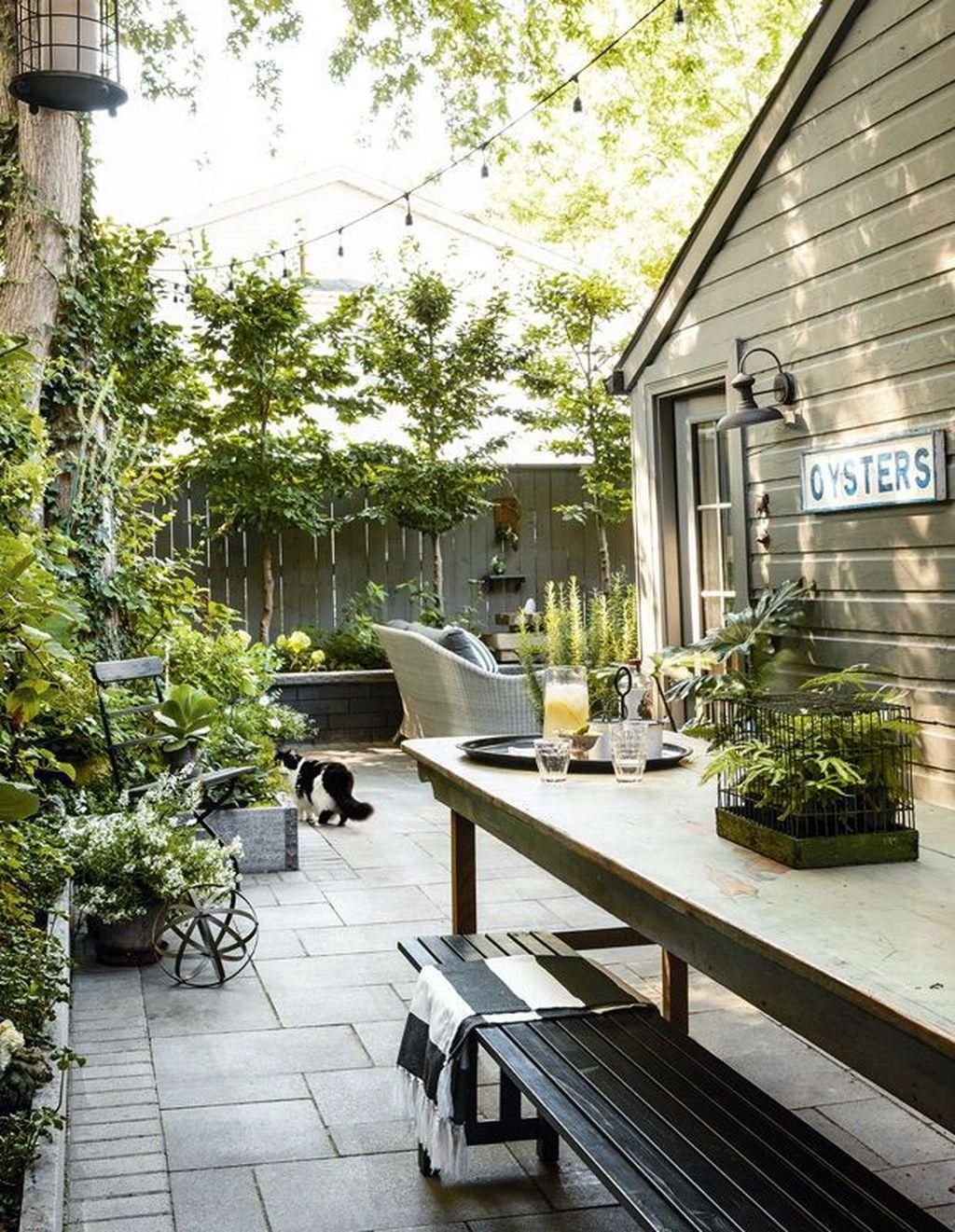 Trending Patio Garden Design Ideas Best For Summertime 23