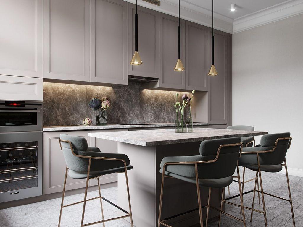 Wonderful Contemporary Kitchen Design Ideas 17