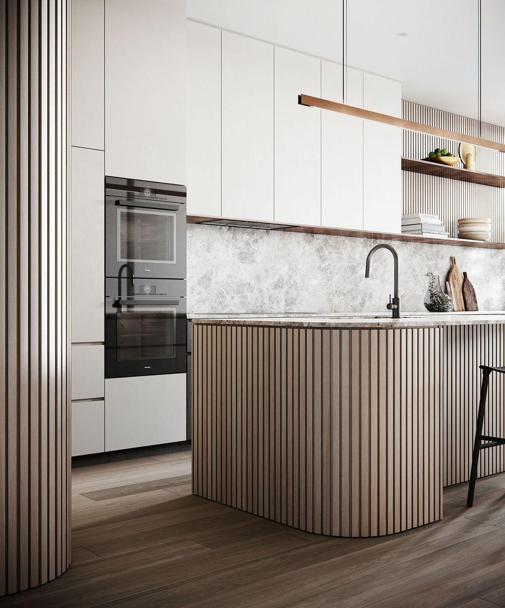Wonderful Contemporary Kitchen Design Ideas 26