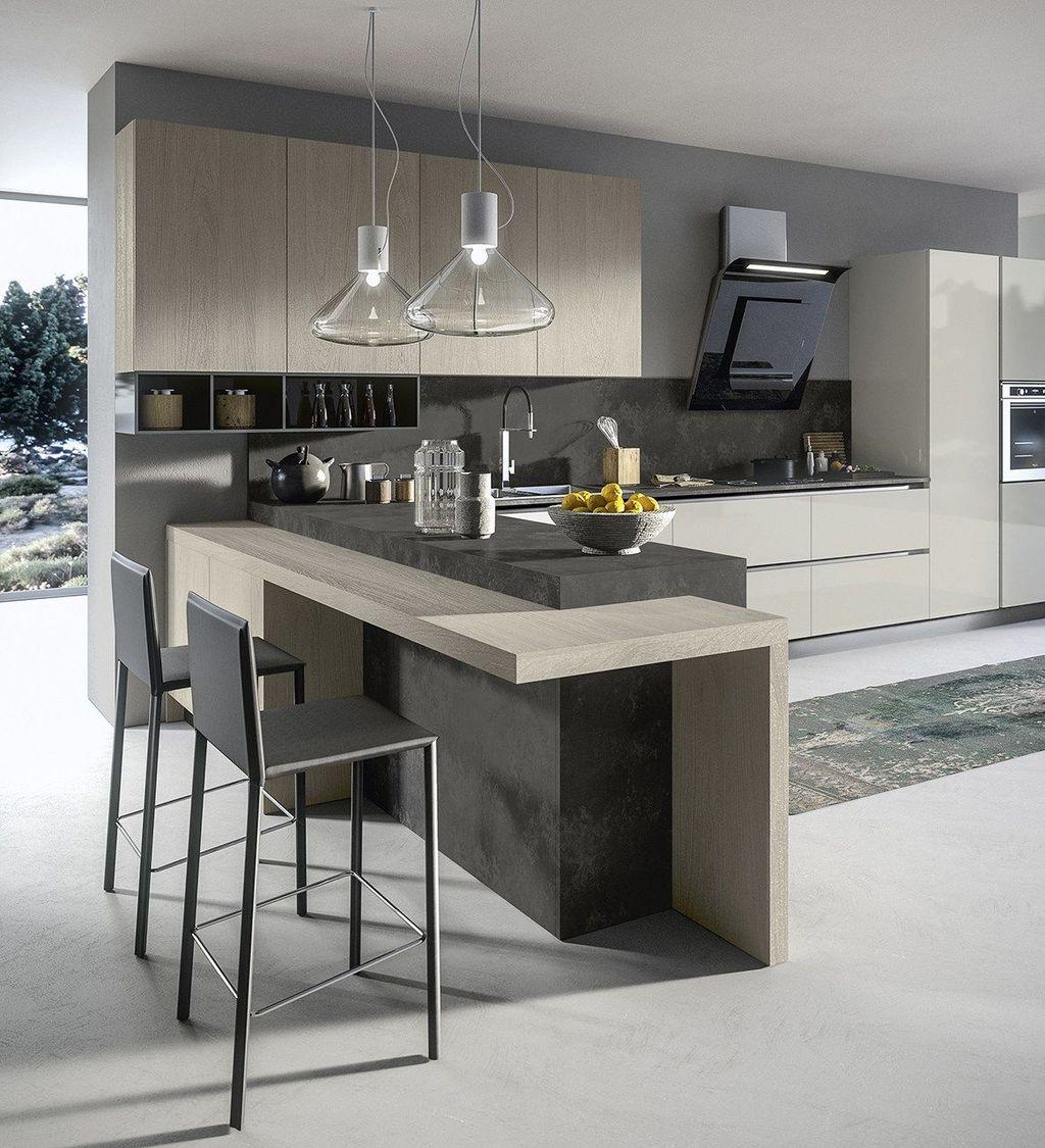 Wonderful Contemporary Kitchen Design Ideas 31