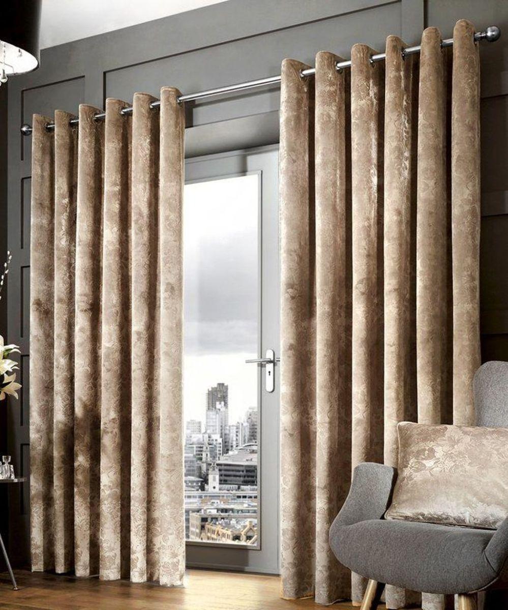 Wonderful Elegant Curtains Ideas For Living Room Decor 05