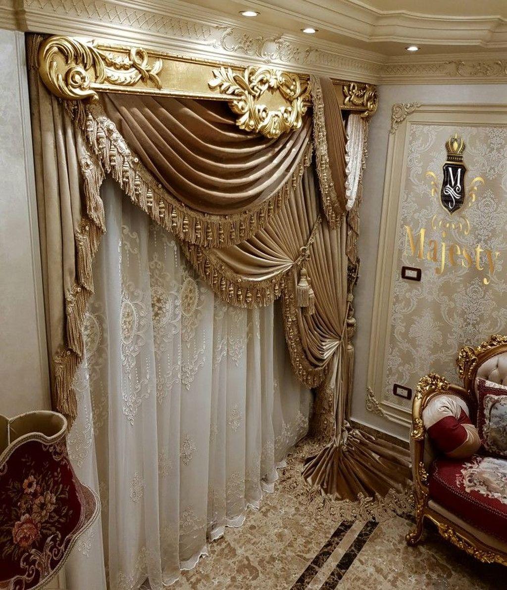 Wonderful Elegant Curtains Ideas For Living Room Decor 07