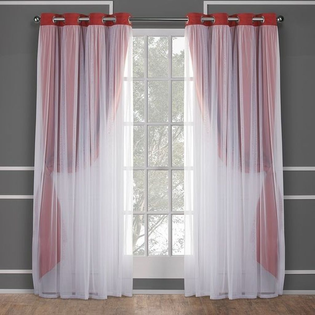 Wonderful Elegant Curtains Ideas For Living Room Decor 19