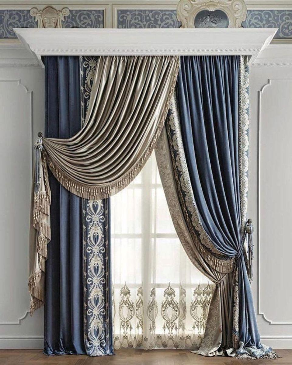 Wonderful Elegant Curtains Ideas For Living Room Decor 24