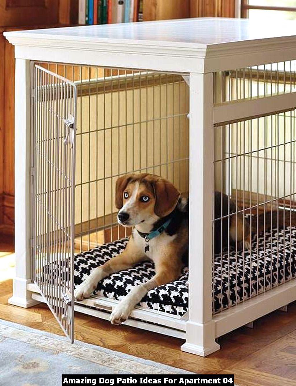 Amazing Dog Patio Ideas For Apartment 04