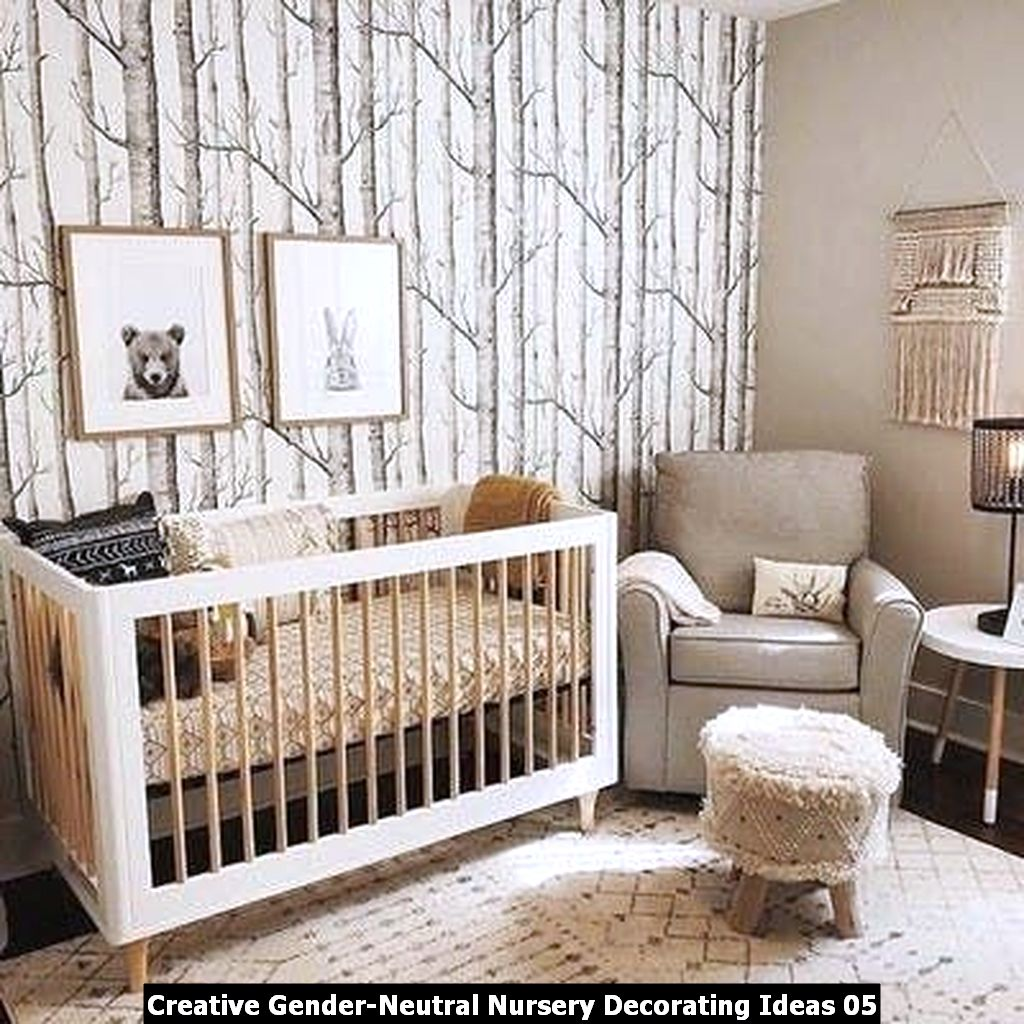 Creative Gender Neutral Nursery Decorating Ideas 05