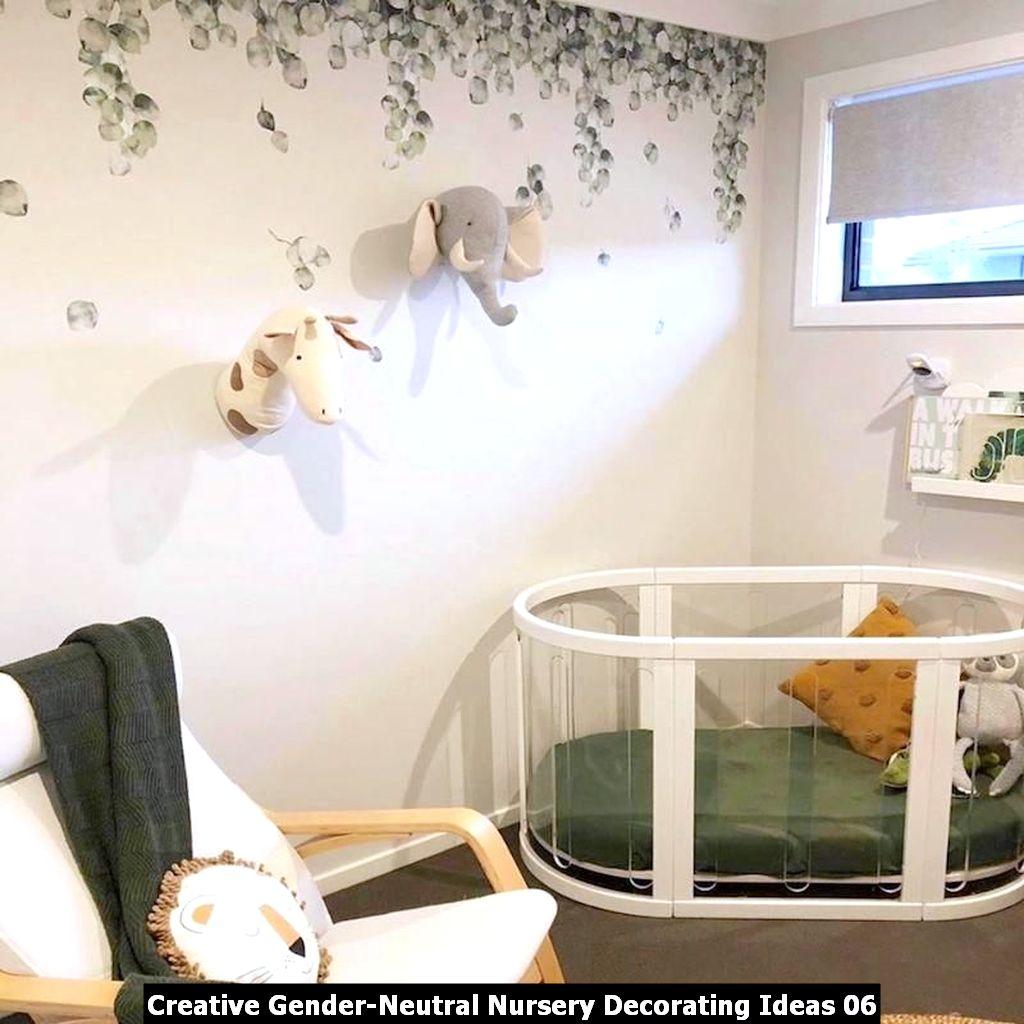 Creative Gender Neutral Nursery Decorating Ideas 06