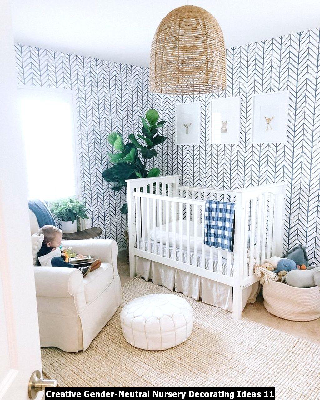 Creative Gender Neutral Nursery Decorating Ideas 11