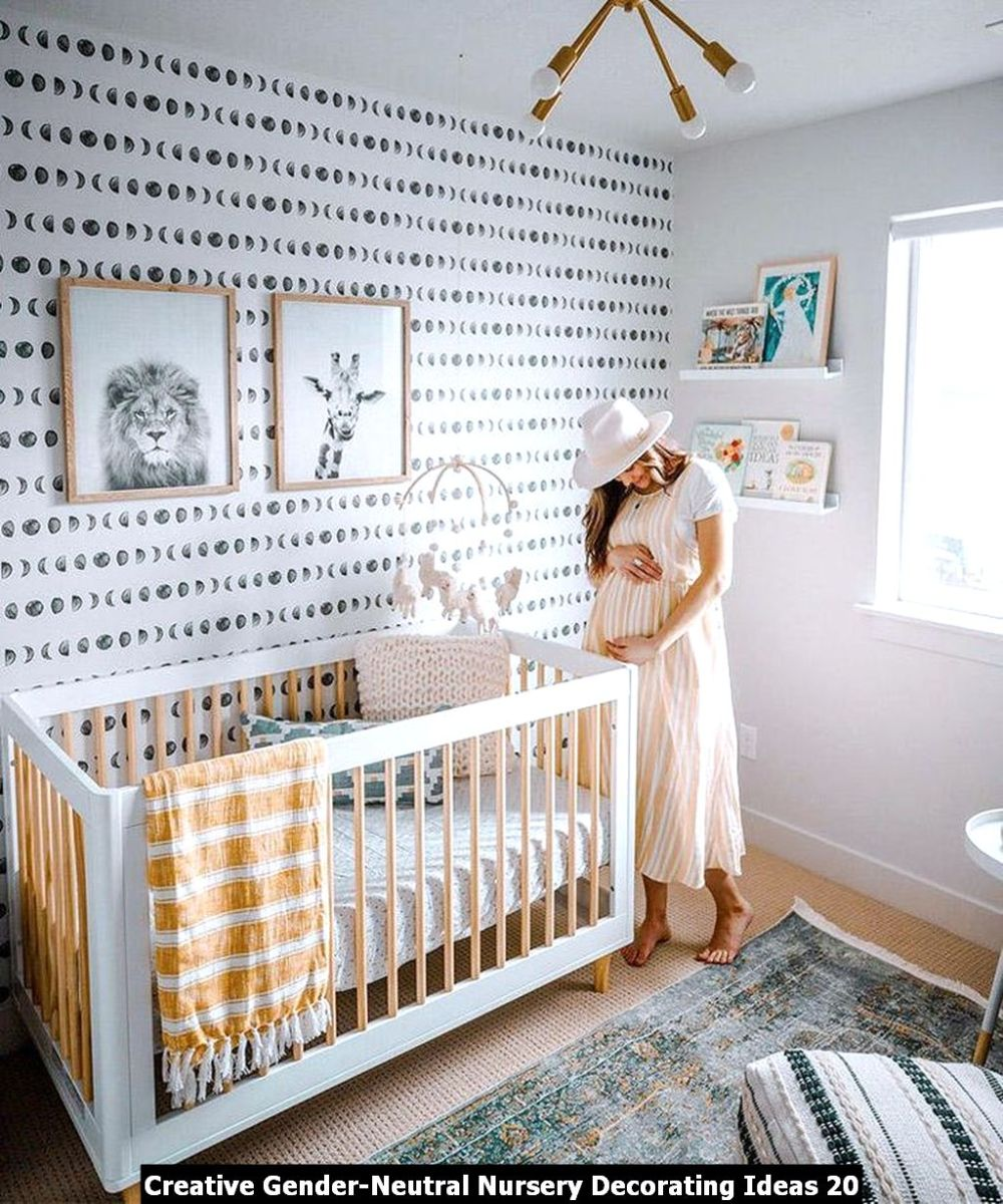 Creative Gender Neutral Nursery Decorating Ideas 20