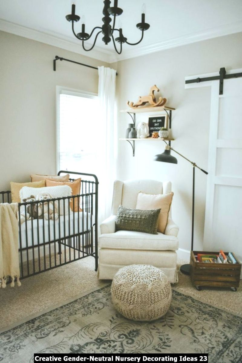 Creative Gender Neutral Nursery Decorating Ideas 23