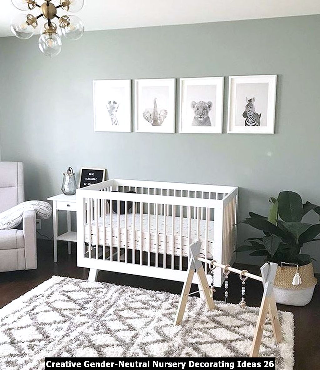 Creative Gender Neutral Nursery Decorating Ideas 26