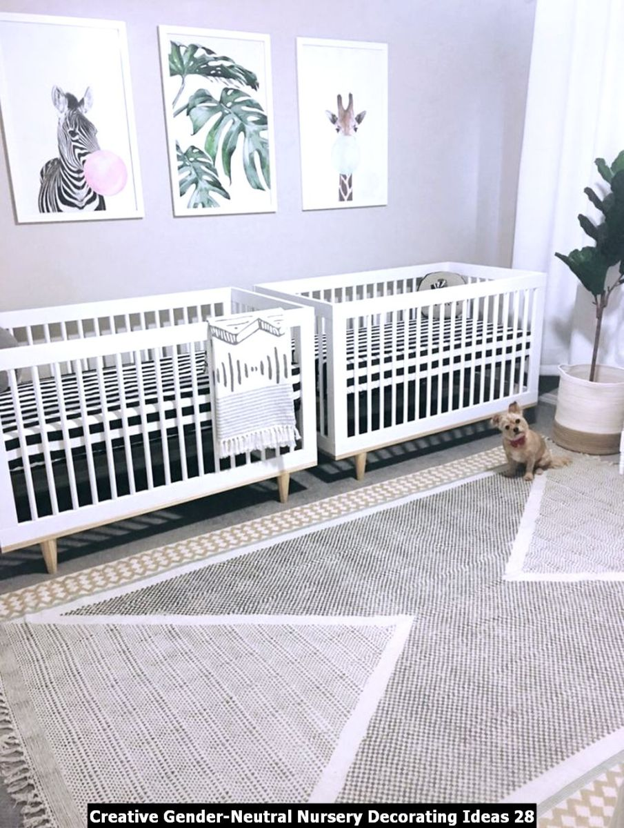 Creative Gender Neutral Nursery Decorating Ideas 28