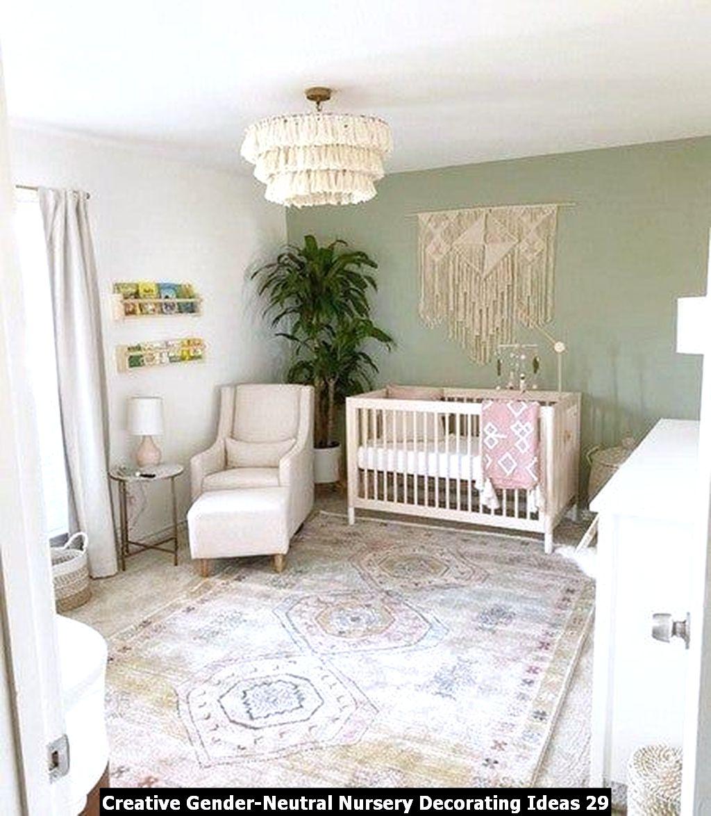 Creative Gender Neutral Nursery Decorating Ideas 29