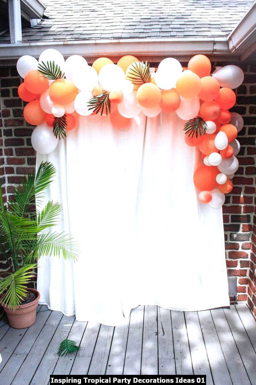 Inspiring Tropical Party Decorations Ideas 01