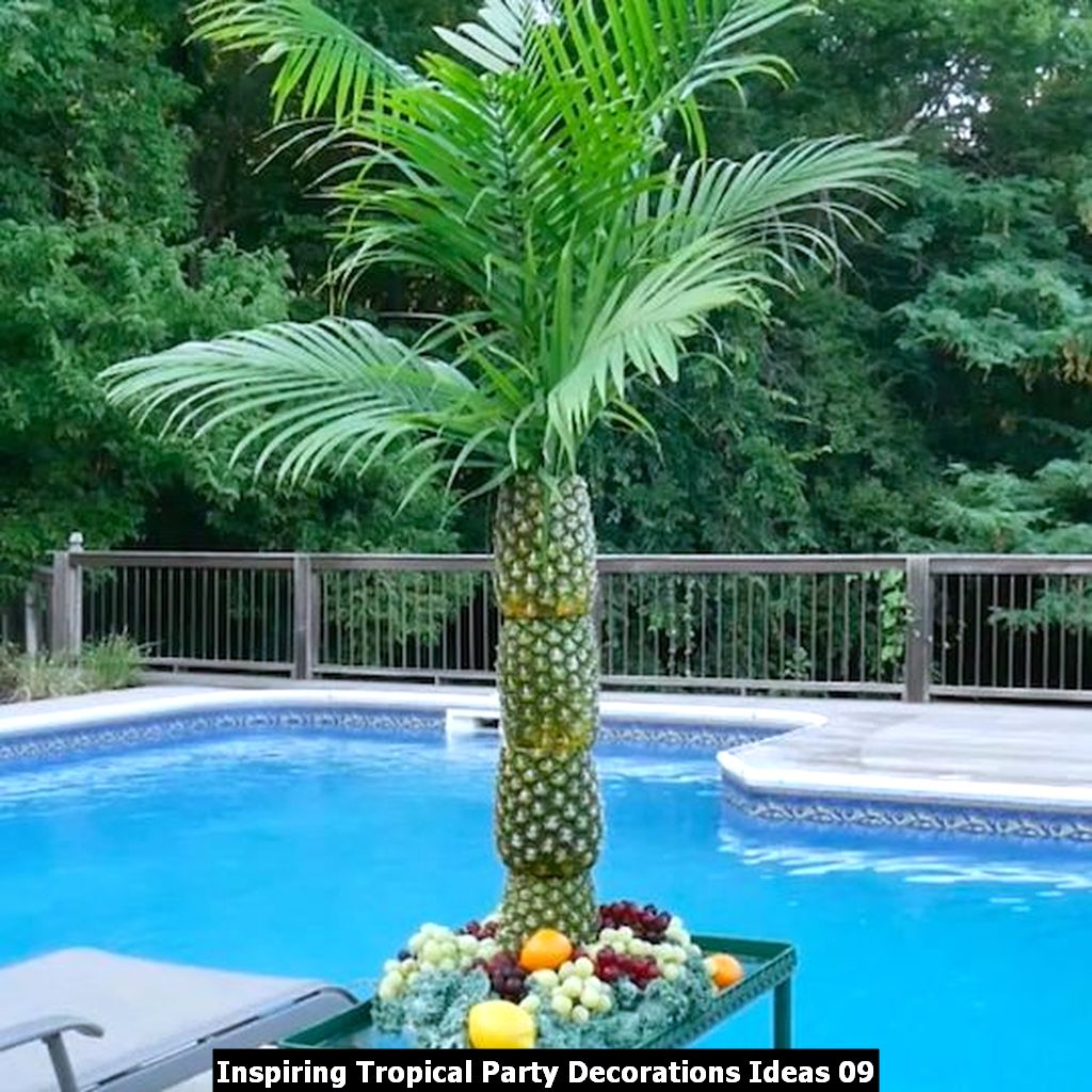 Inspiring Tropical Party Decorations Ideas 09