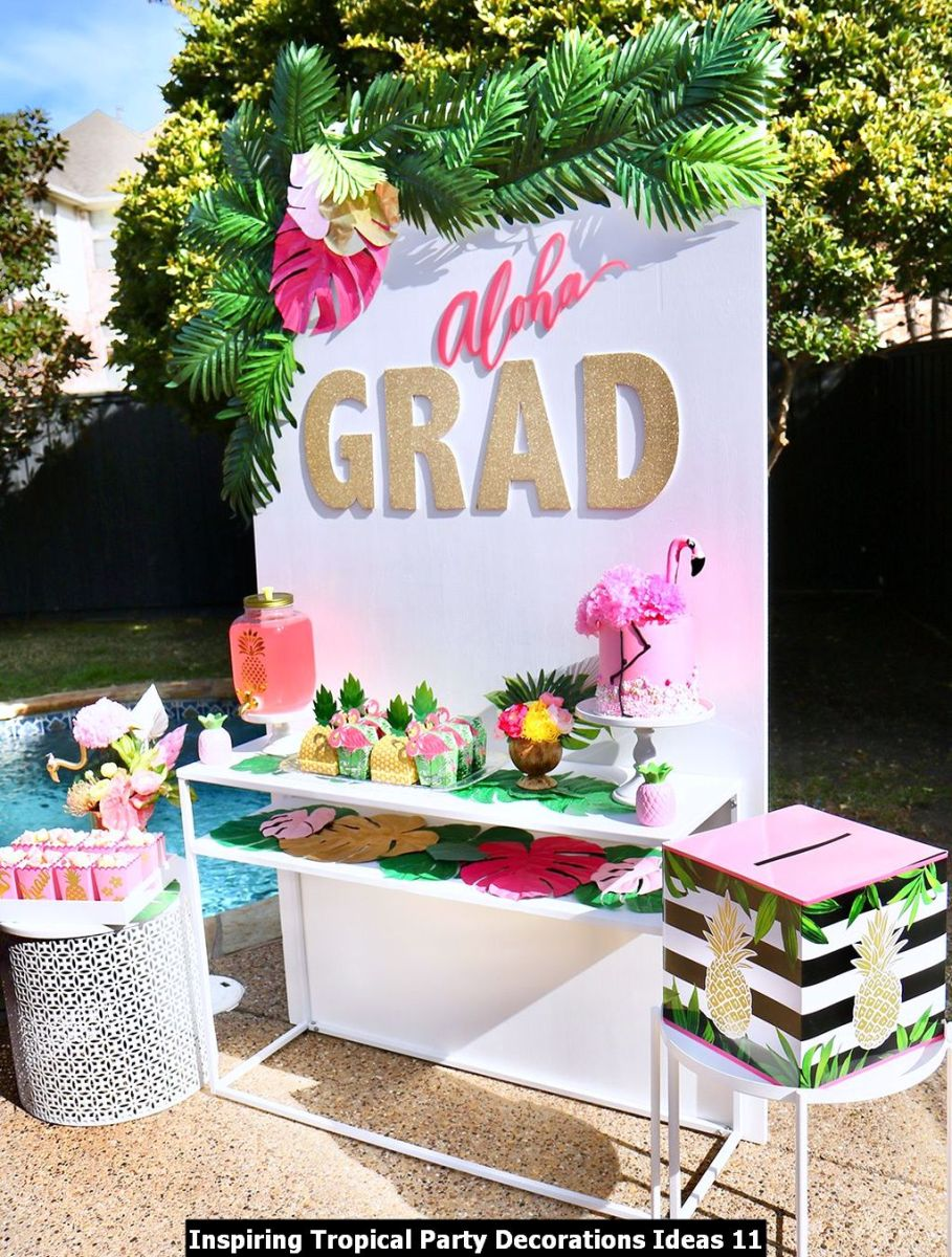 Inspiring Tropical Party Decorations Ideas 11