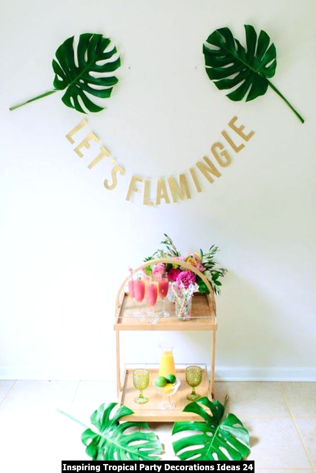 Inspiring Tropical Party Decorations Ideas 24