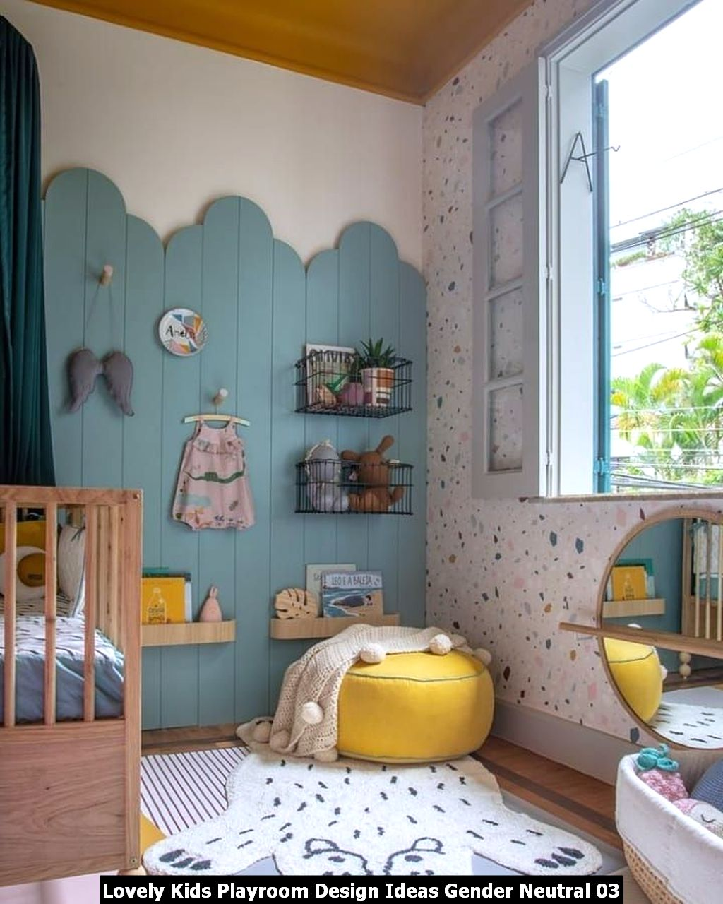 Lovely Kids Playroom Design Ideas Gender Neutral 03