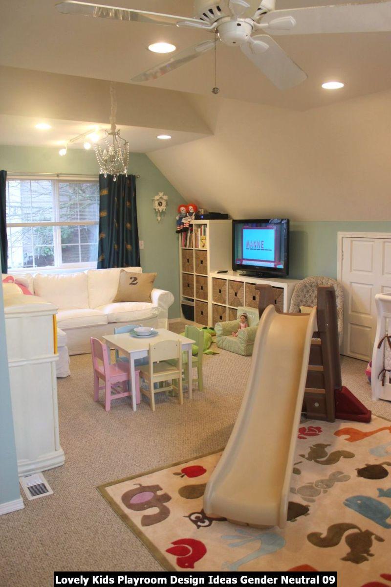 Lovely Kids Playroom Design Ideas Gender Neutral 09