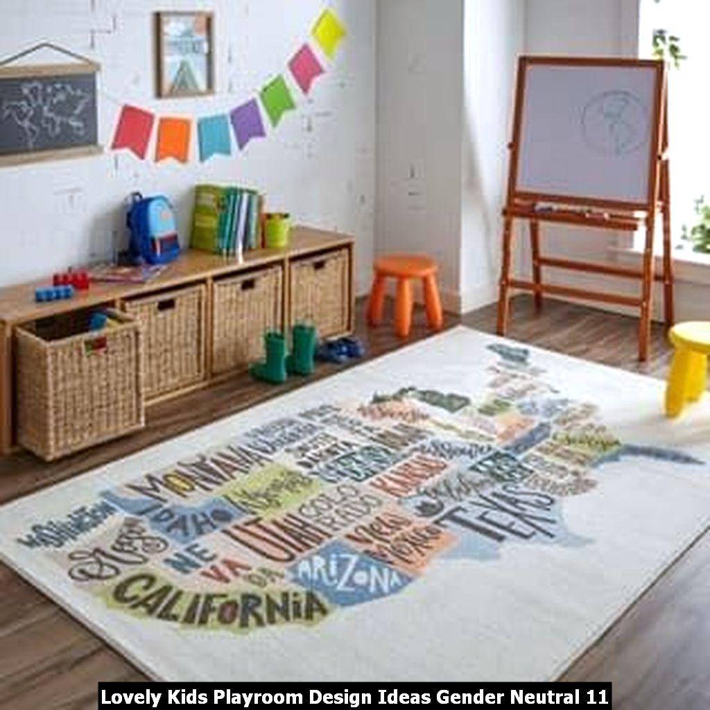 Lovely Kids Playroom Design Ideas Gender Neutral 11