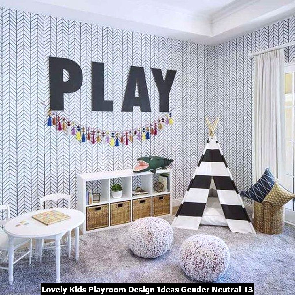 Lovely Kids Playroom Design Ideas Gender Neutral 13