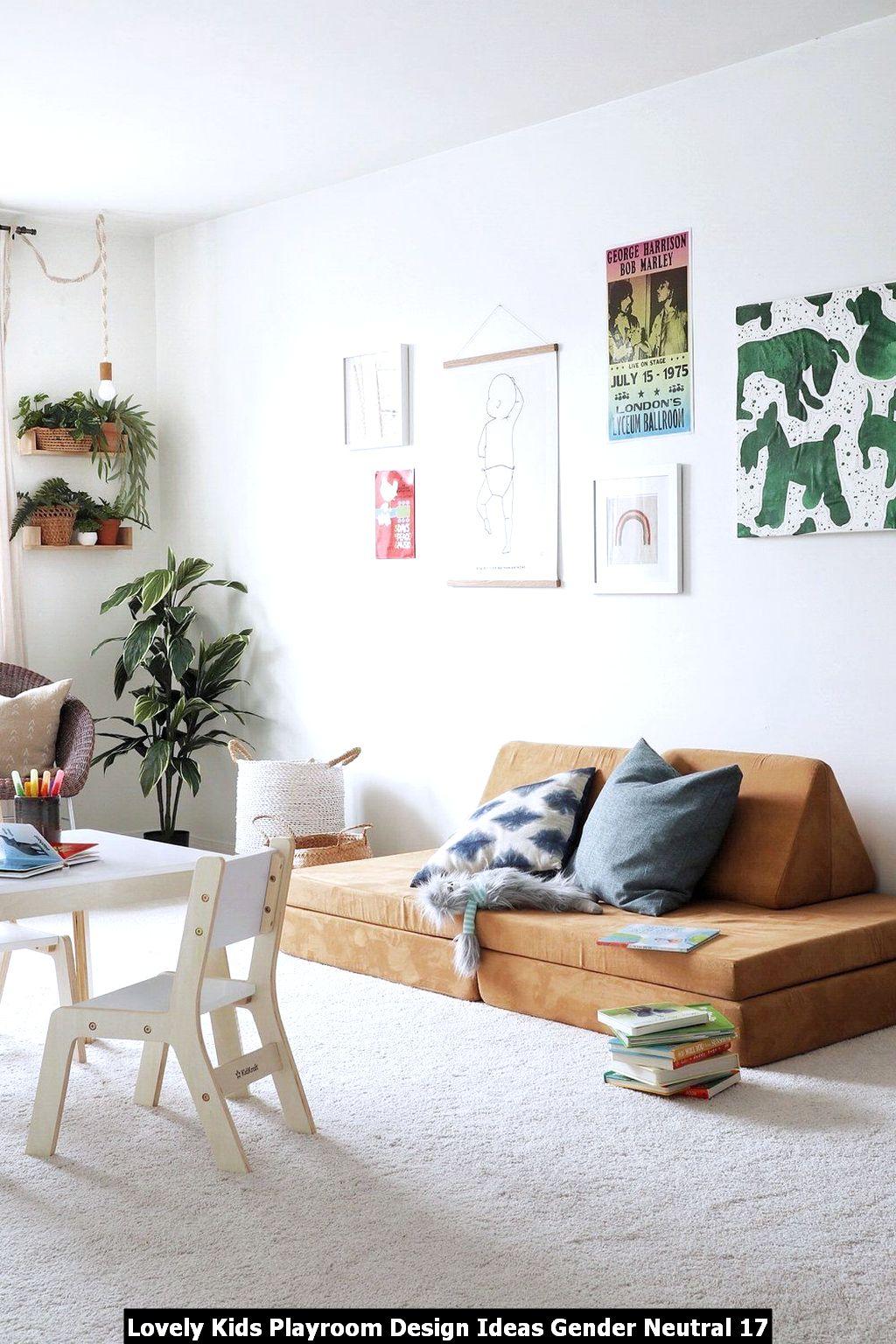 Lovely Kids Playroom Design Ideas Gender Neutral 17
