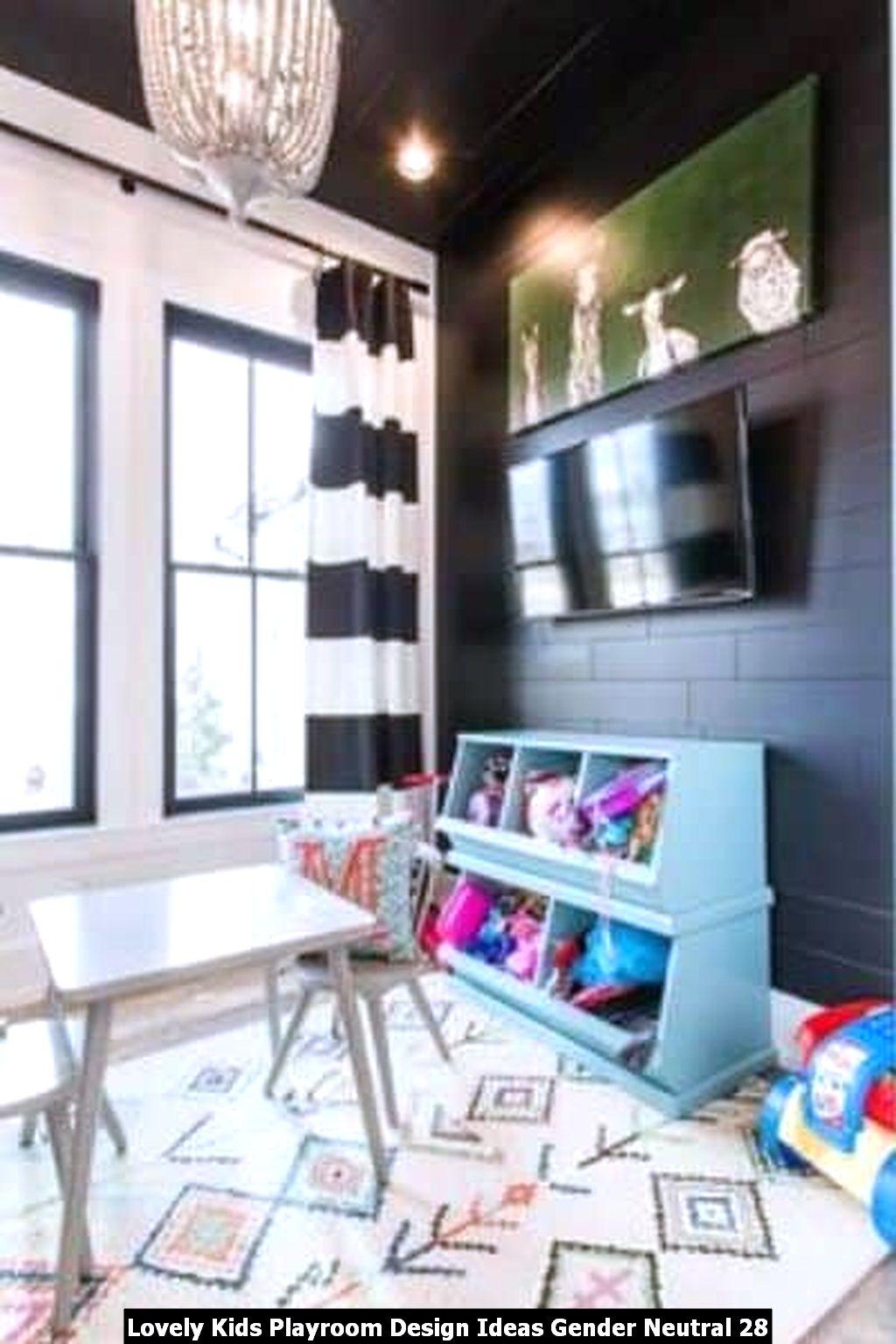 Lovely Kids Playroom Design Ideas Gender Neutral 28
