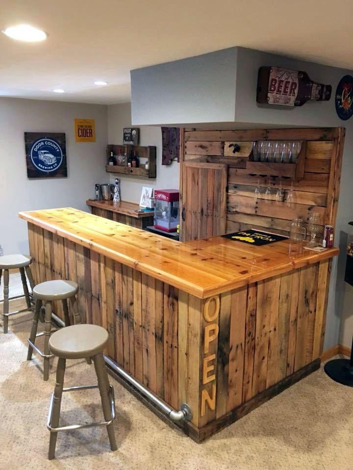 DIY Home Bar Ideas