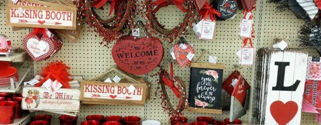 Hobby Lobby Valentine Decor