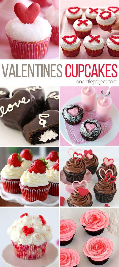 Valentine Cupcakes Decorating Ideas