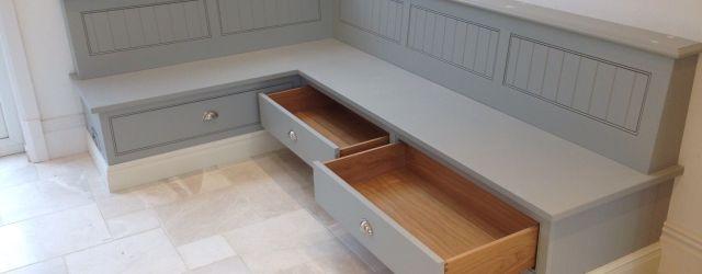 Corner Bench Seating For Kitchen