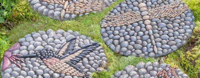 Decorative Garden Stepping Stones