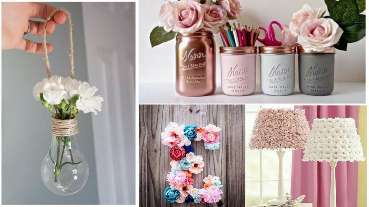 DIY Craft Ideas For Home Decor