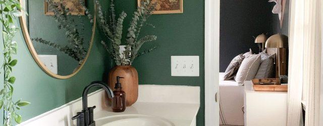 Green Bathroom Ideas