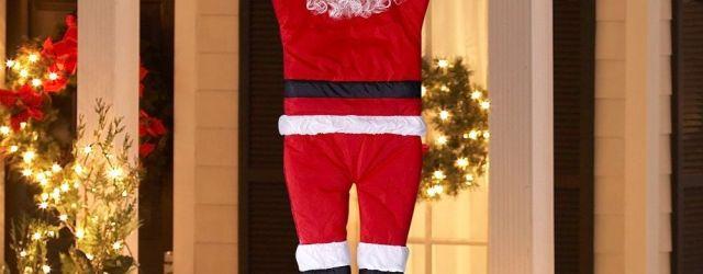 Santa Claus Outdoor Decorations