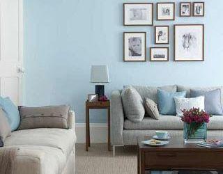 Light Blue Walls Living Room