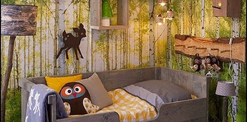 Forest Themed Bedroom