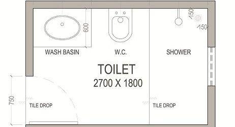 Bathroom Layout Design