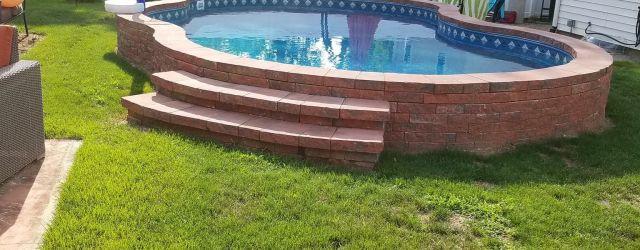 Small Backyard Above Ground Pools
