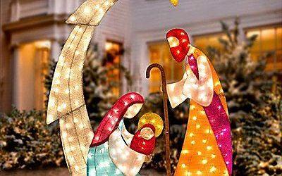 Nativity Scene Outdoor Decoration